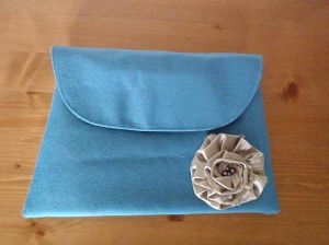A Classic Envelope Clutch.  Truly lovely.