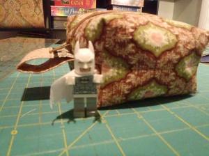 Arctic Batman MiniFigure approves!
