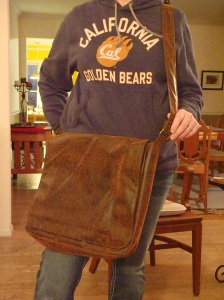 Indy. A rugged messenger bag.