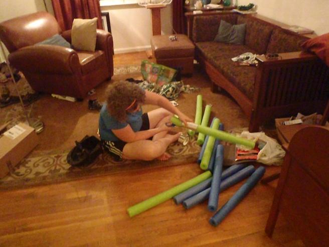 Making the lightsasbers