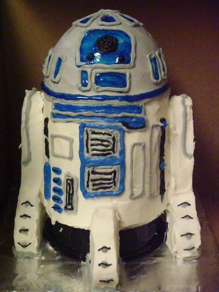 R2-D2 Cake!!