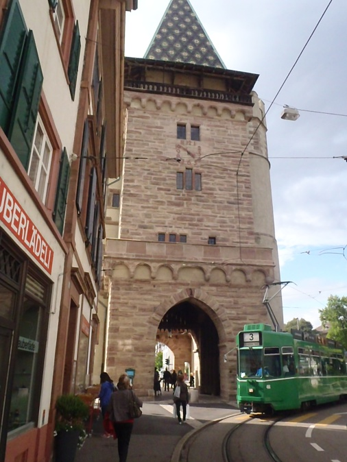 One of the Tower Gates to the city