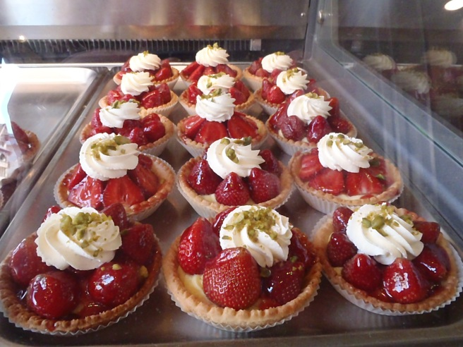Strawberry Tarts! Don't they look fantastic!