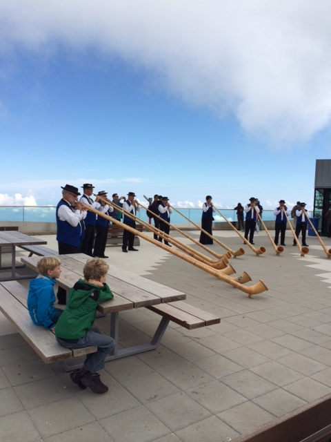 Alpine Horn players!