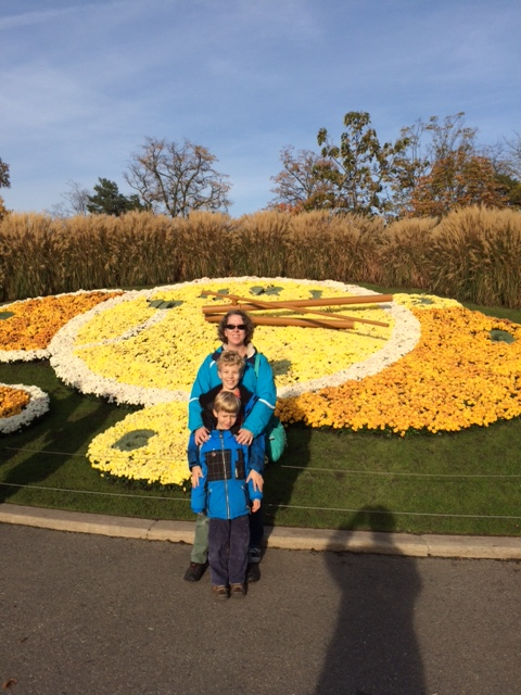 We also found the Geneva Flower Clock!