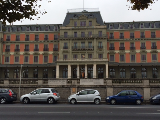 The Palais Wilson were the League of Nations was constructed.