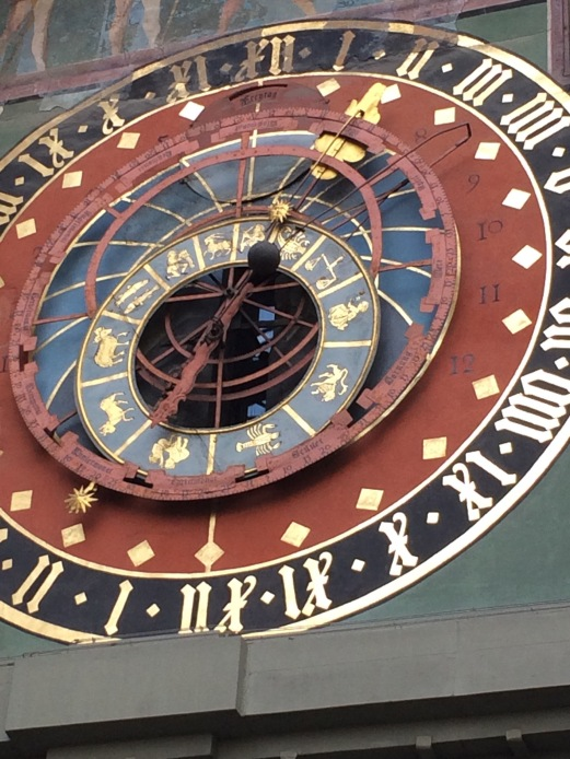 A good close-up of the astronomical clock.  Look at all the dials and wheels!