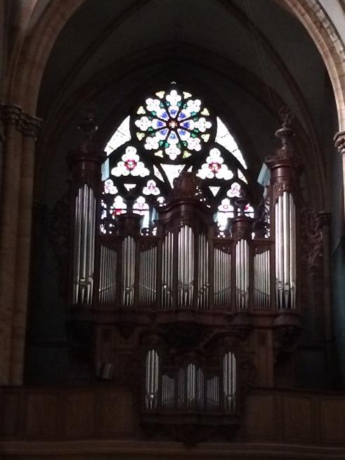 The organ. For Mom. Merry Christmas.