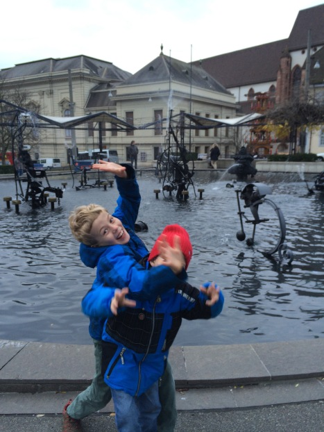 The Tinguely Fountains.  Dad could name almost every tractor and machinery part that was used.