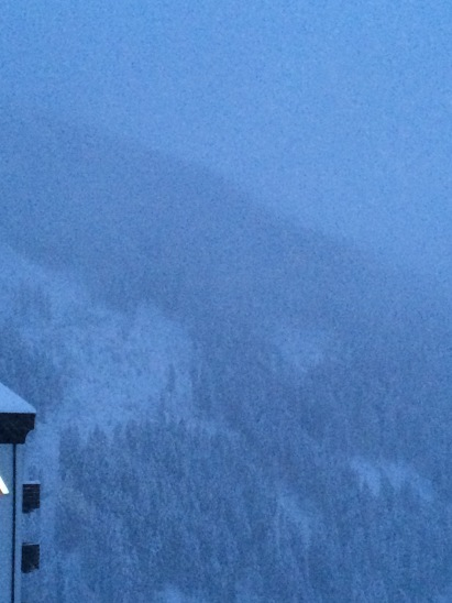 It is snowing! We got over 9 inches in 2 days!