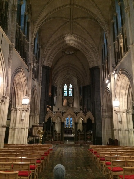 The main congregational area of Christchurch Cathedral.