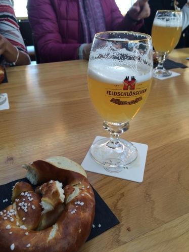 Beer!  Beer and Pretzels!!