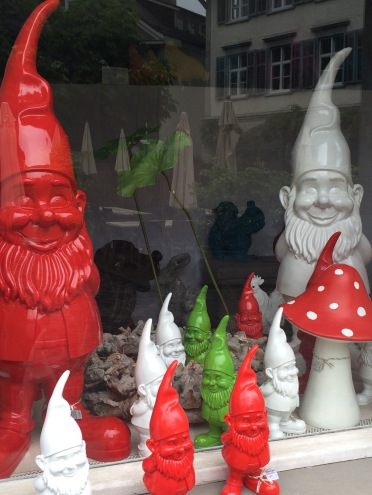 The St. Gallen/Appenzell region sure loves their gnomes.