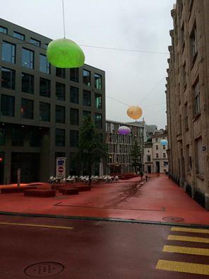 St. Gallen Stadt lights
