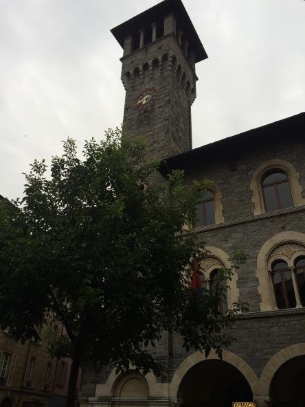 The Old City Hall or Palazzo Civico di Bellinzona.