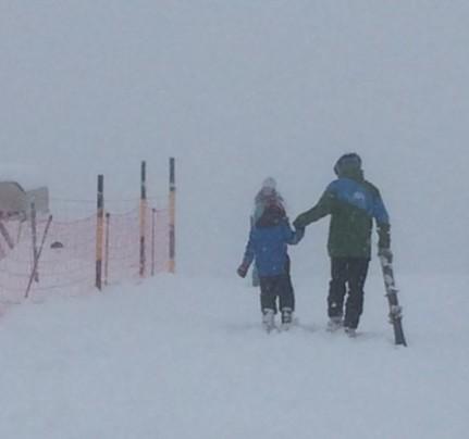Henrik ski lessons 2016 Kandersteg