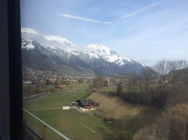 On the way to Kandersteg