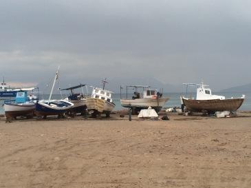 Boats on Aegina