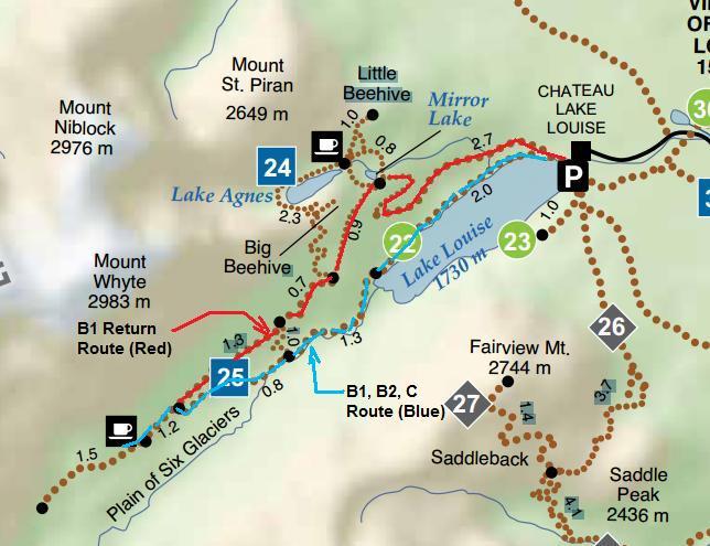 Lake+Louise+Trail+Map – Mindy Qs